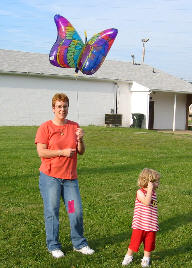 Mommy with Balloon