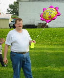 Daddy with Balloon